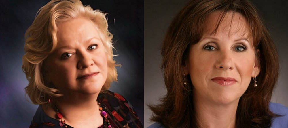 Corporate Communications Experts: Rebecca Theim (left) and Stephanie Nora White (right).