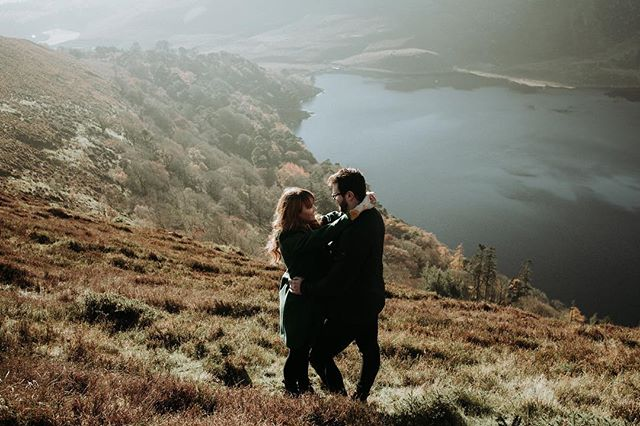 Got some engagement photos done on Sunday. Lovely day in the Wicklow mountains with @jessicahardy18. 📷 @photosbybokeh