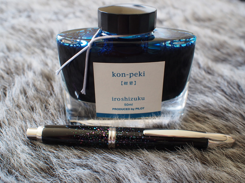 Behind every great pen stands a great bottle of ink