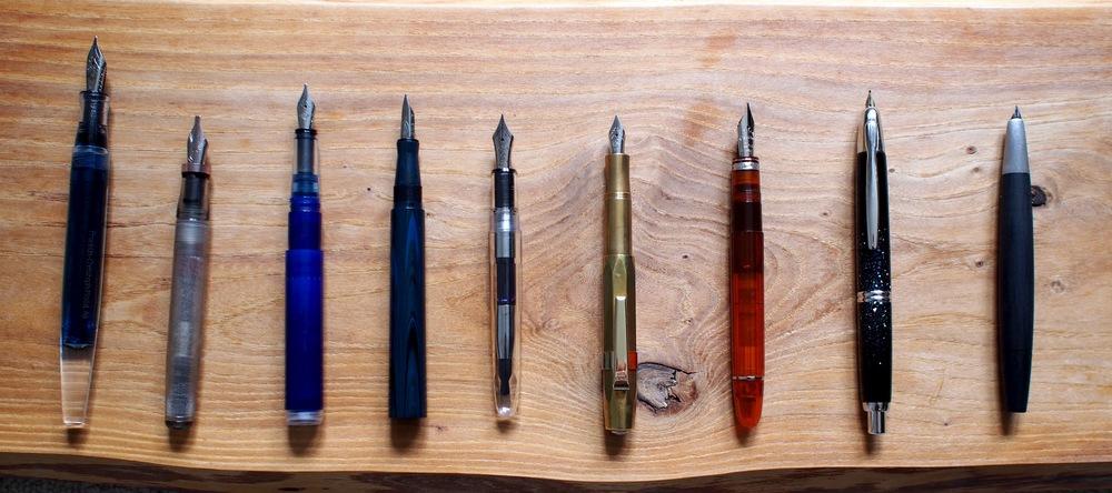 Inked Pen Line-Up