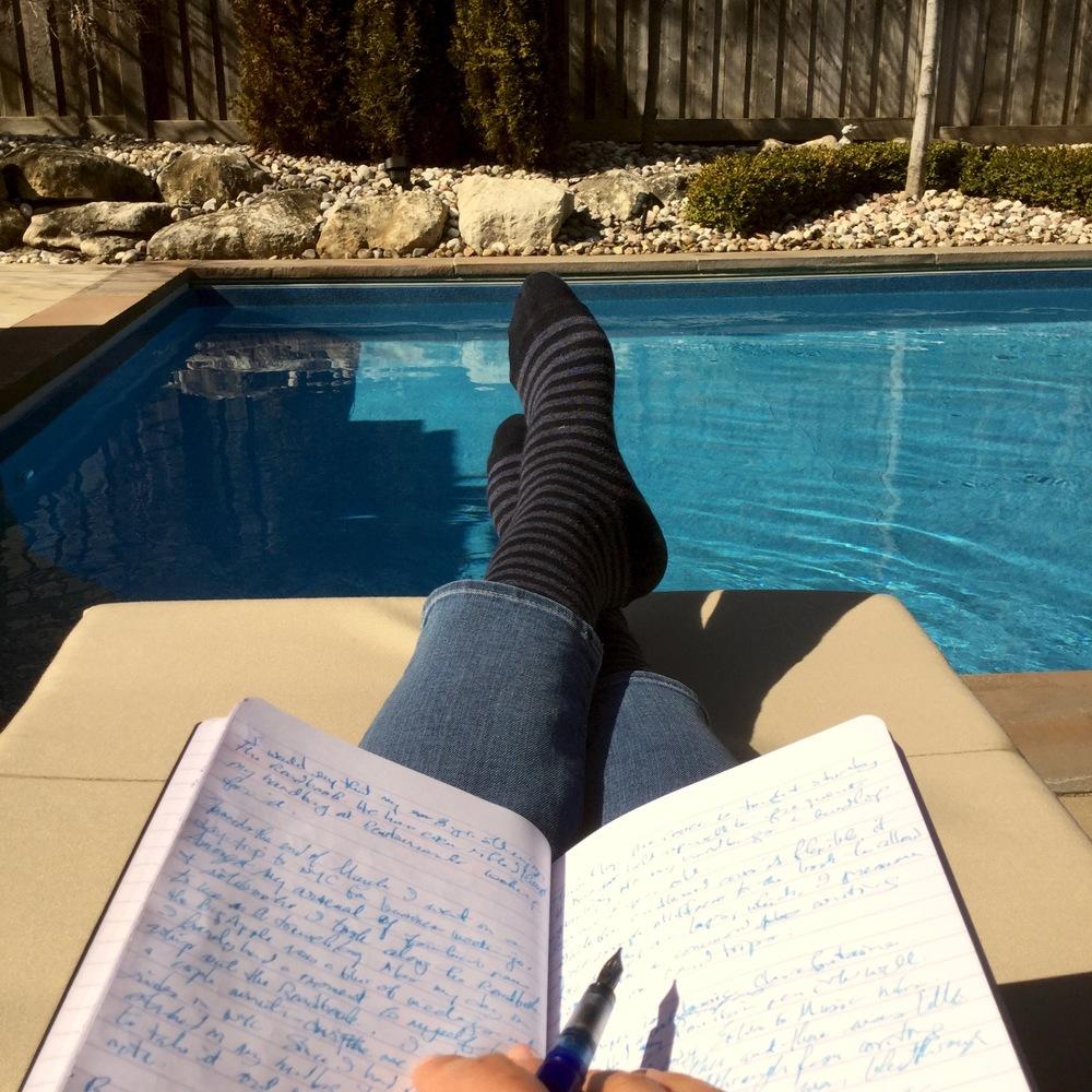 Roadbook reviewing is serious work...