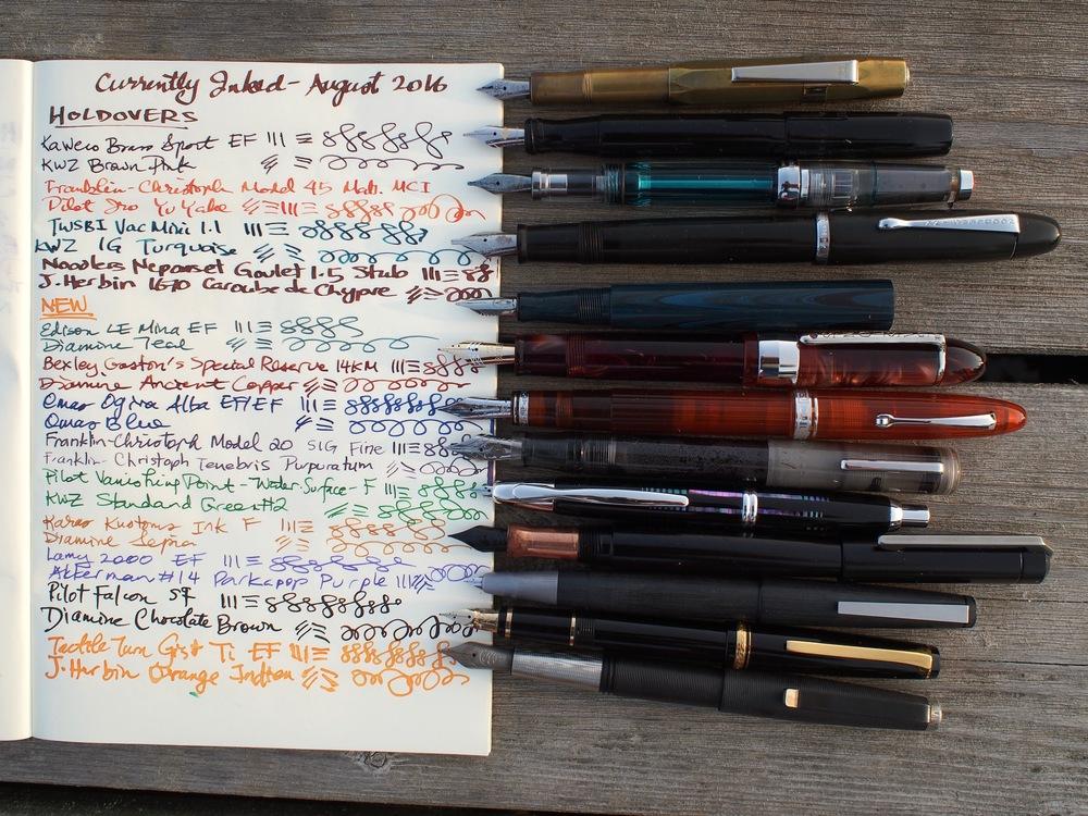 Pen & Ink combos