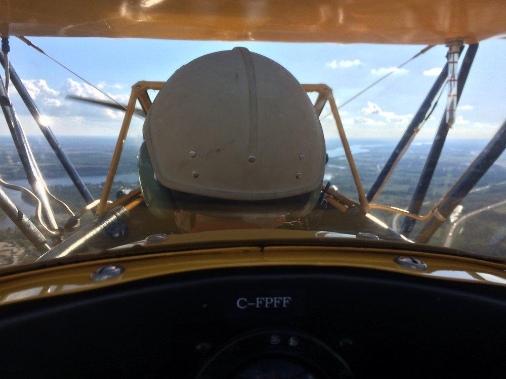My veteran pilot