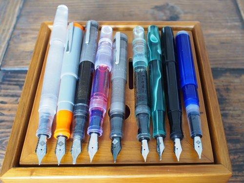 wordless wednesday franklin christoph fountain pen family