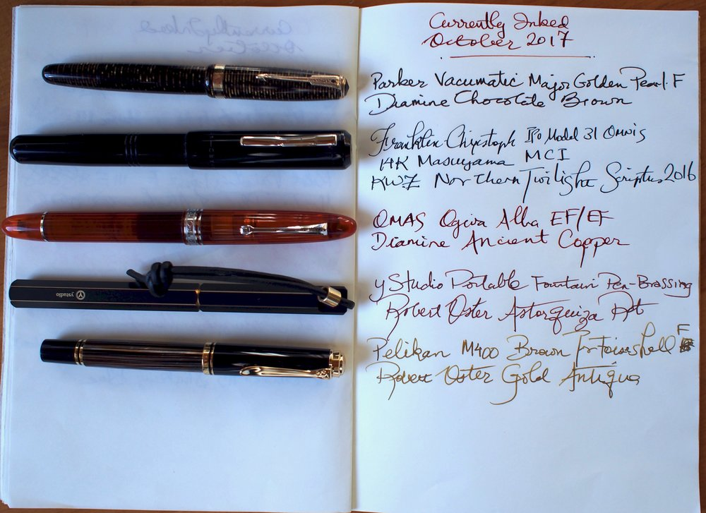 Pen and Ink Combos