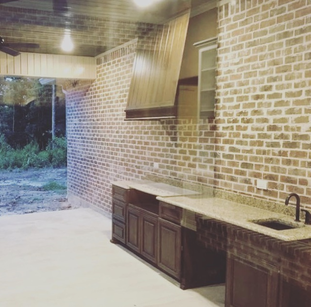 outdoor kitchens — M&M MILLWORKS OF LOUISIANA, LLC