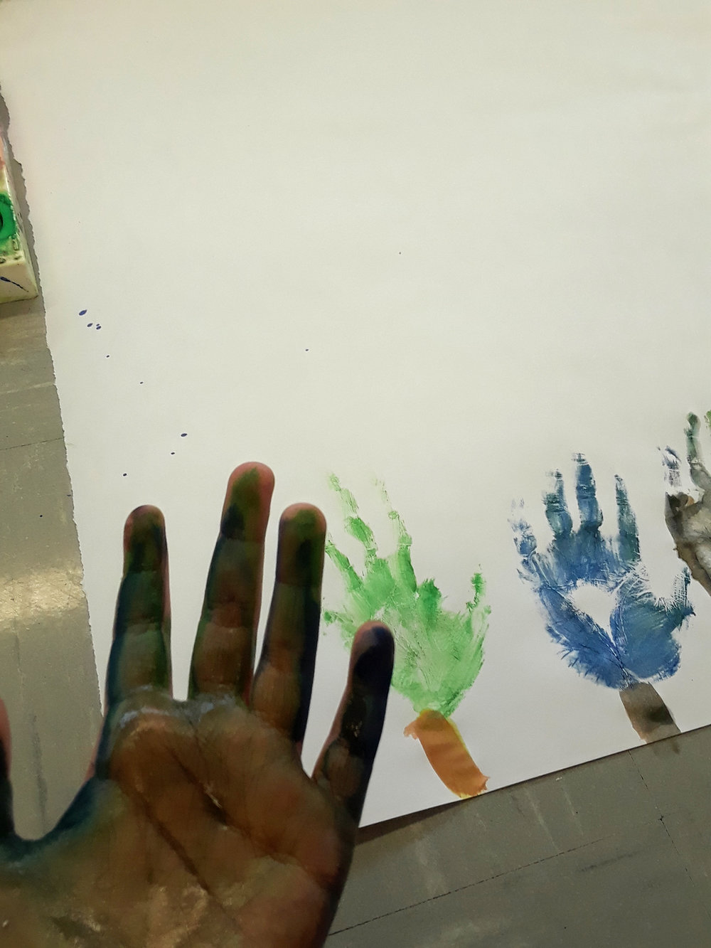 Story Telling - Through a combination of the visual arts and theatre. The student is guided to tell his or her story to solve a problem, achieve catharsis, understand the meaning of images, and strengthen his or ability to observe personal roles while increasing flexibility between roles.