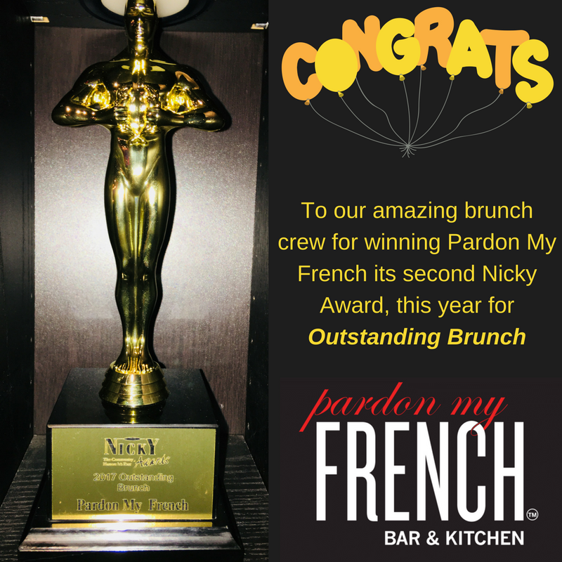 To our amazing brunch crew for winning Pardon My French its second Nicky Award, this year for Outstanding Brunch.png