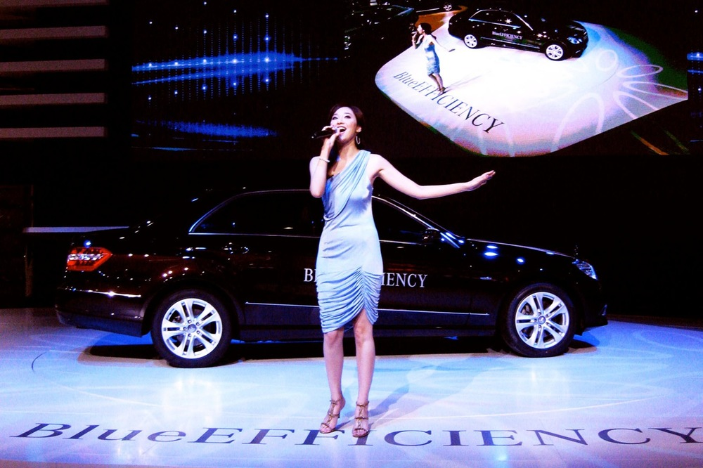 OCTOBER 2009 | Guangzhou, China. Mercedes Benz Internatio  nal Auto Show, featuring Pace Wu.   Stage Management & Show Direction by Good Sense.