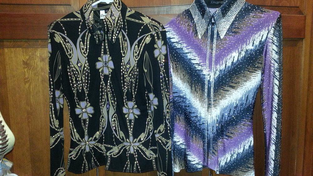 Custom shirts.