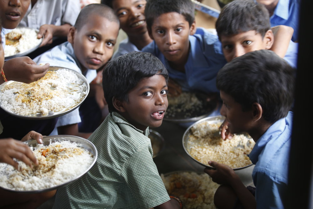 Today, Akshaya Patra provides free mid-day meals to 1.6 million children at over 13,000 schools, and has a presence in 30 locations across 12 states in India.