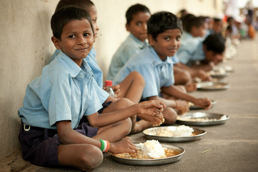 Akshaya Patra - In June, Kousalya Ranganathan applied for a $5,000 gift to Akshaya Prata which helps provide meals to school children in India.