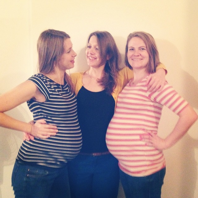 The pregnant ladies