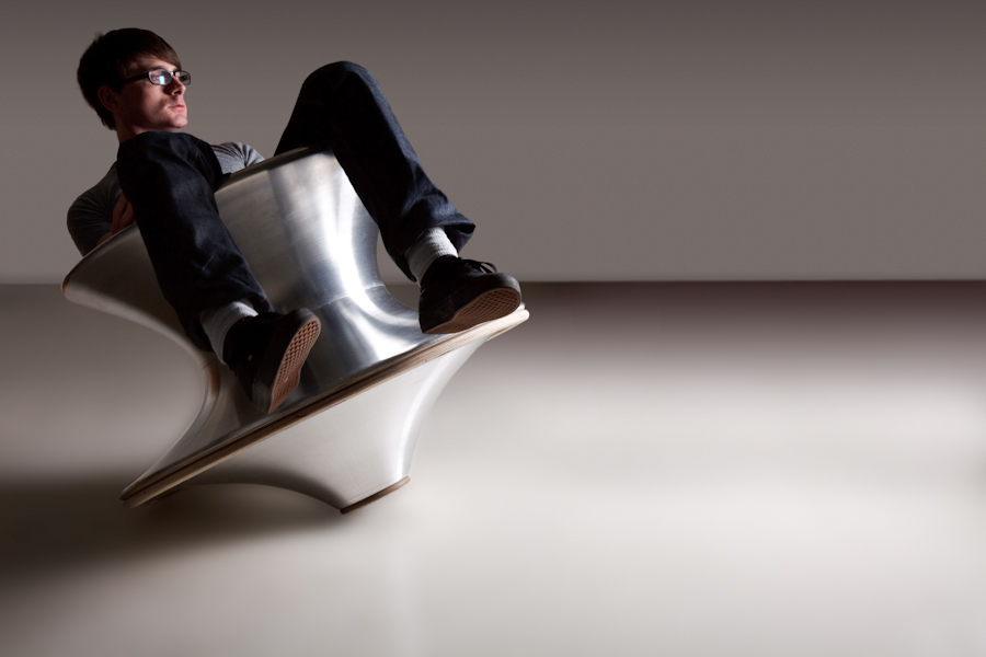 Heatherwick Studio's Spun Chair