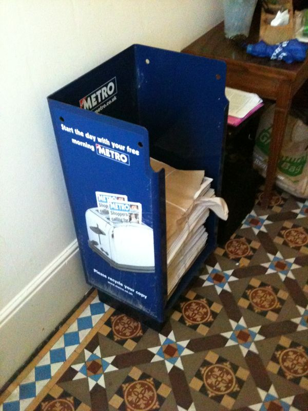 A prop for this weekend's shoot has just been dropped off by the brilliant people at Metro. Another piece of the jigsaw…