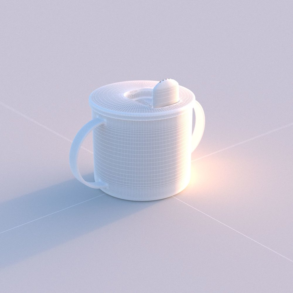 Child Cup 3D Model Mesh