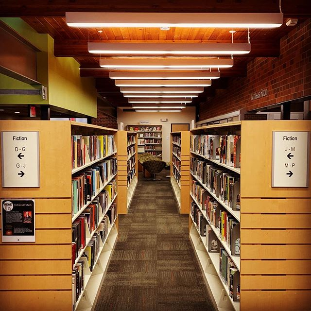 What are you reading this weekend? . . . #fiction #library #books