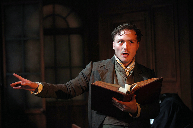 Reluctant hero - Prollen as William Hone - photo by Philip Tull