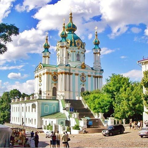 Definitely charge your cameras before coming here! #ukraine #ukrainecathedral #church #beauty #color #inspiring #travel #ctg #instagram #instapic #christiantravelgroups #architecture #ctgroups
