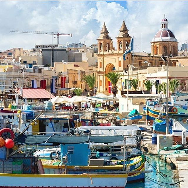 No one can resist the colors of Malta. #malta #ctg #travel #photooftheday #explore #travelmore #happymoments #travelmoreworkless #christiantravelgroups #instsgram #ctgroups #colors #boats #dock #city #beautifuldestinations #water #boatsinwater #2016destination