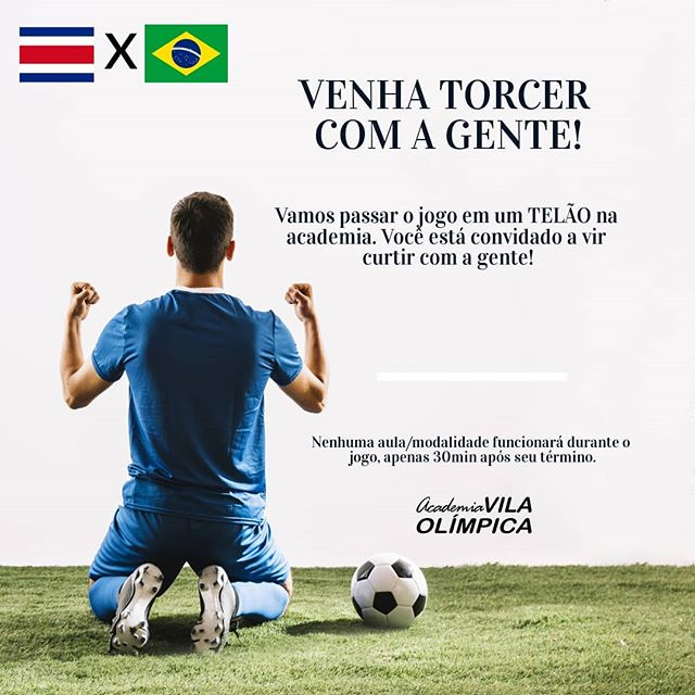 NESSA SEXTA ÀS 9H! #VemPraVila! #VaiBrasil #CopaDoMundo