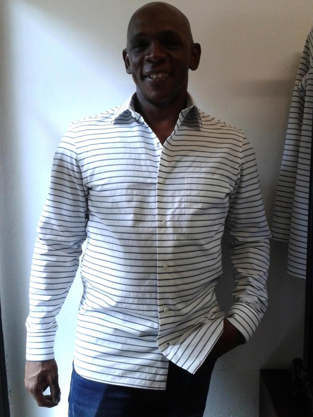 Boat shirt, 100% cotton, Italy