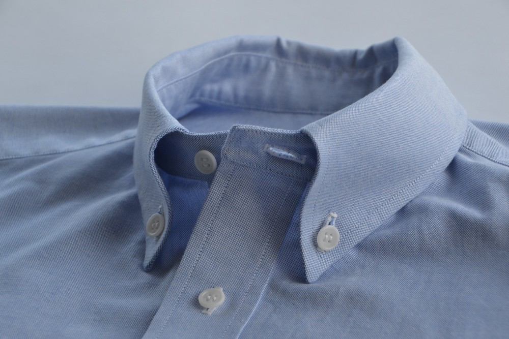 Big button-down collar