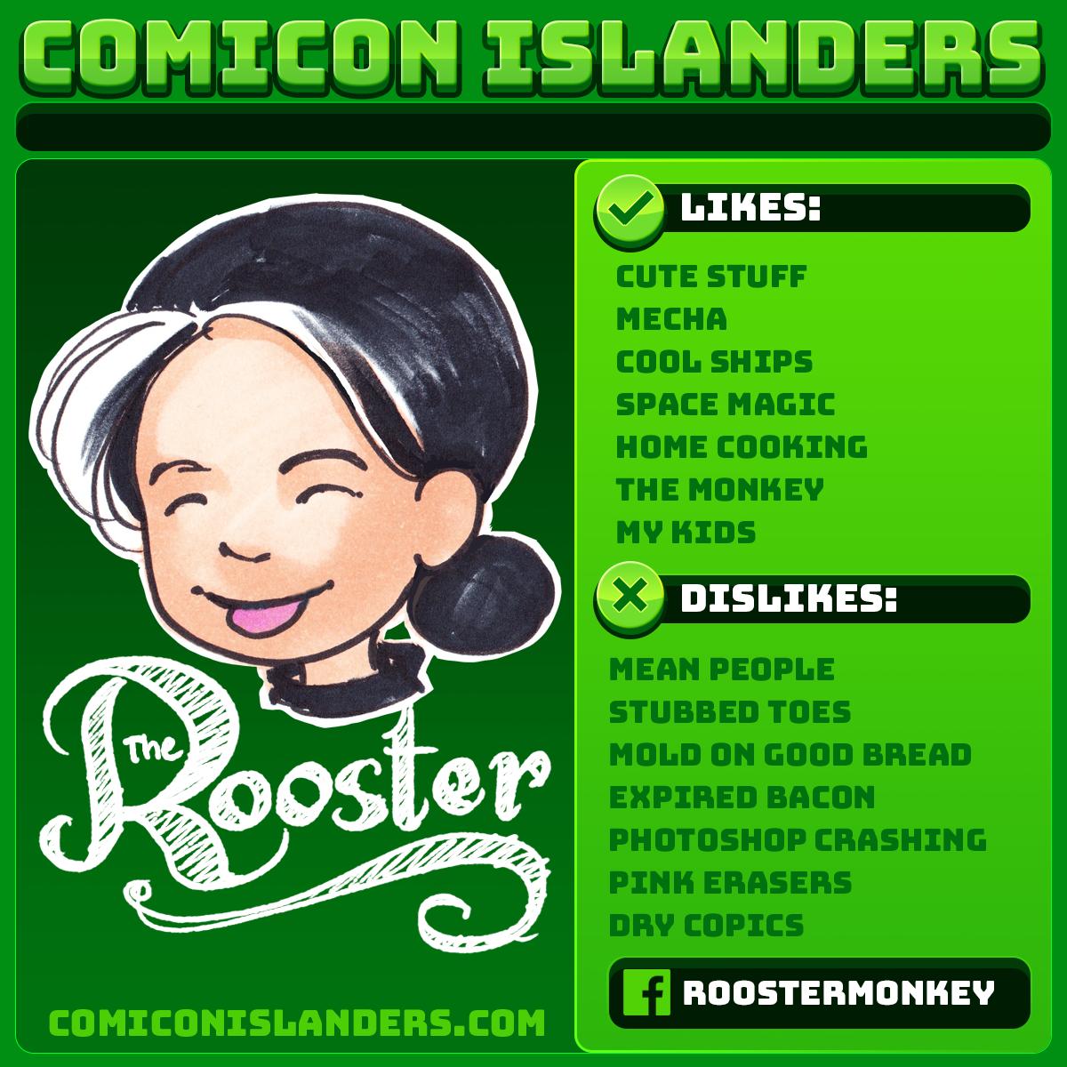 Comicon Islanders