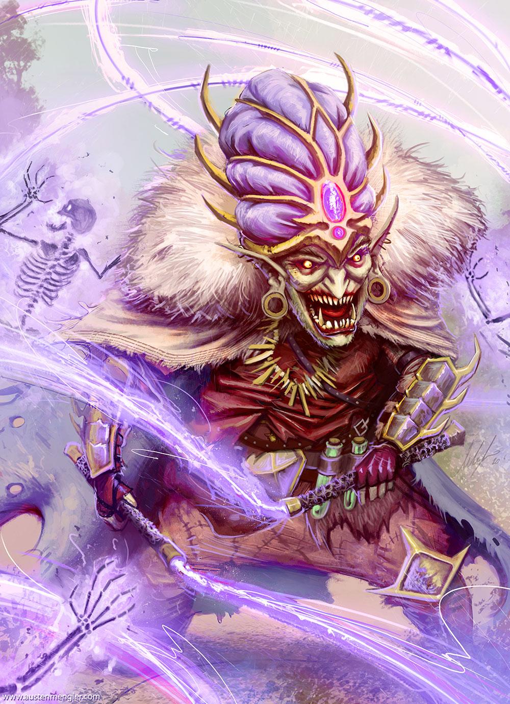 Goblin Whip Mage