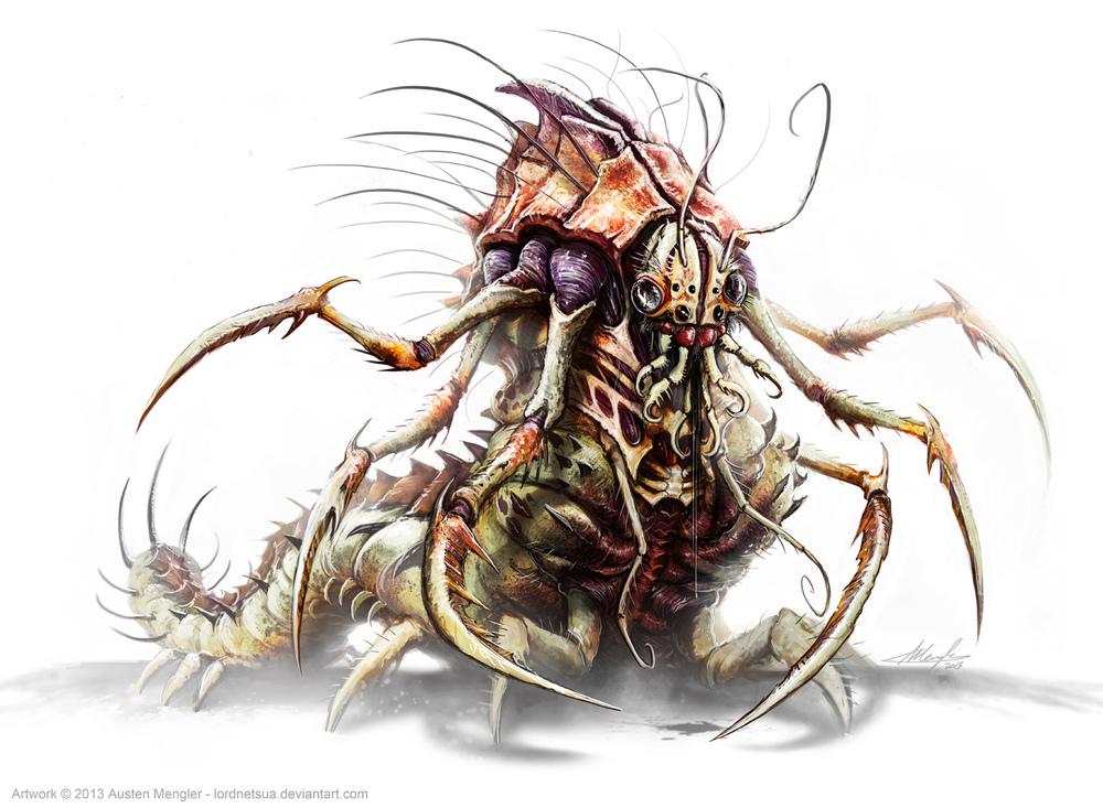 Giant Flayer Wyrm