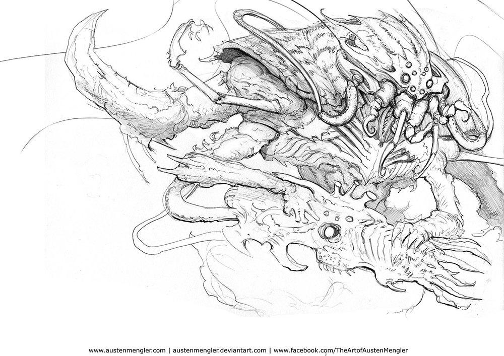 Tyranid Sketch