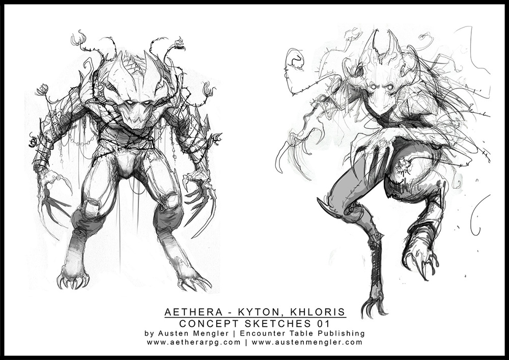 KHLORIS - Concept Sketches 01
