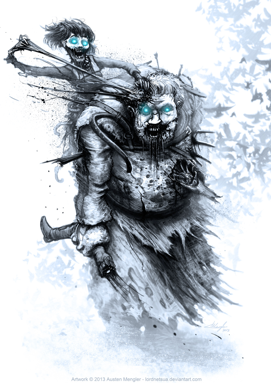 Hodor & Bran Stark