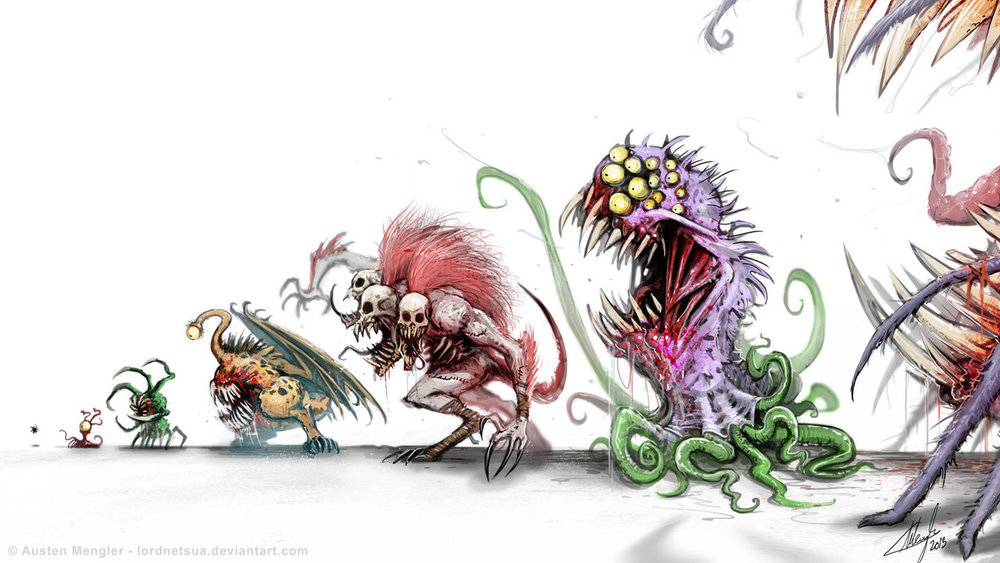 MONSTER FOOD CHAIN
