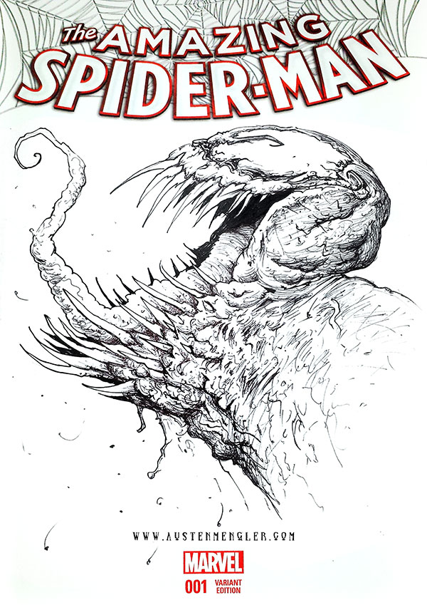 VENOM - Sketch Cover