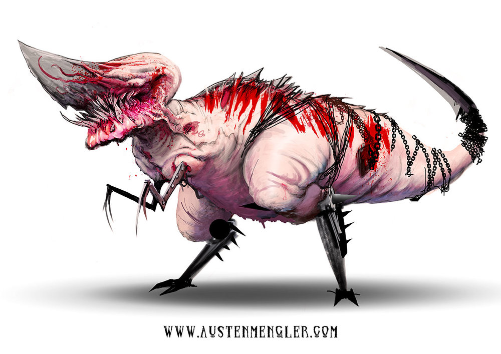 KNIFEASAURUS REX