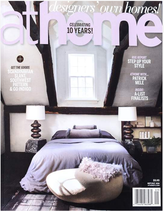 AT HOME MAGAZINE - Fall 2016
