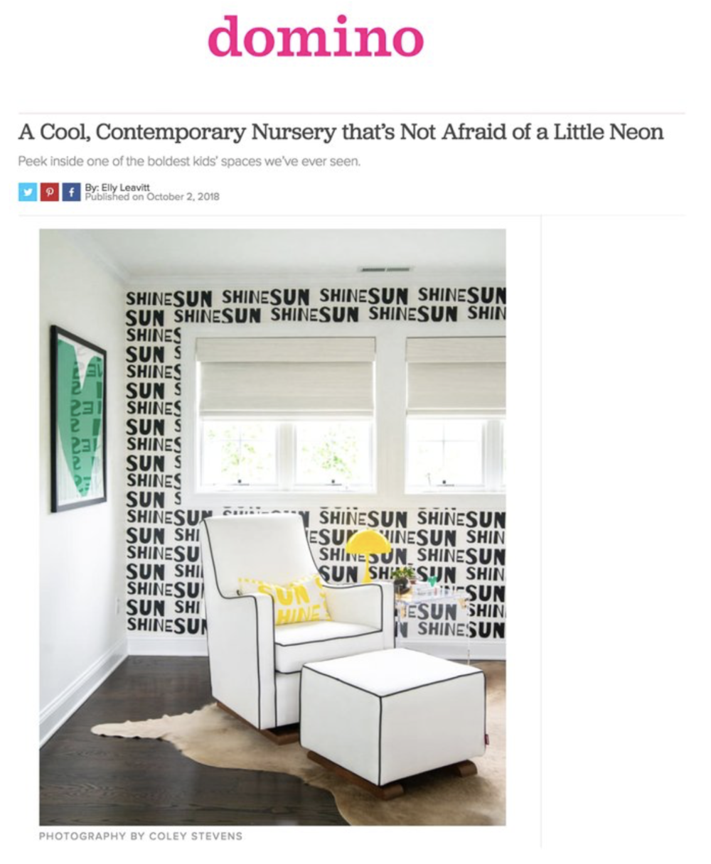 DOMINO MAGAZINE - October 2018