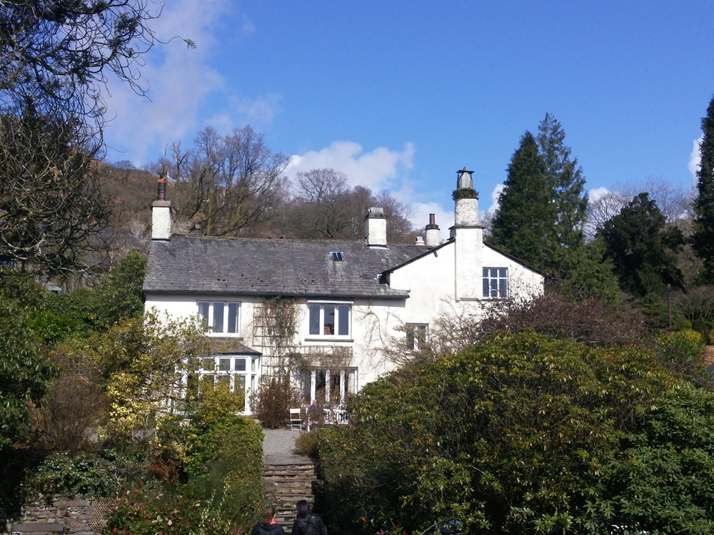 Rydal Mount, the home of the famous poet, William Wordsworth