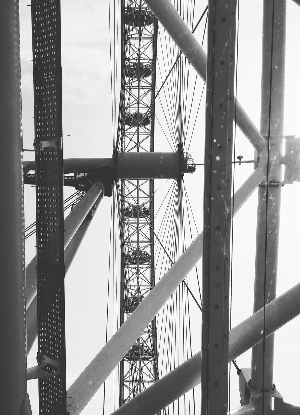 Through the London Eye