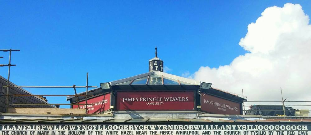 We stopped in at the little Welsh town with the longest name in the world. Its translation is below.