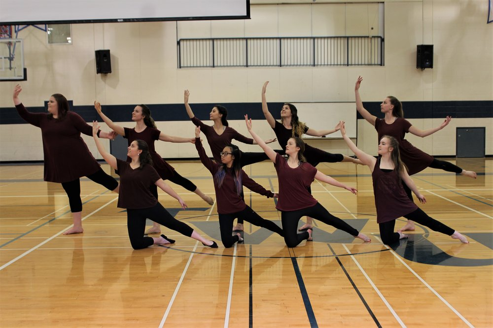I got the wonderful privilege of being a part of Trinity's Impact Dance Team. We performed every couple of months in chapel, and got to choreograph every dance together. It was such a gift to be a part of such a close-knit little community.