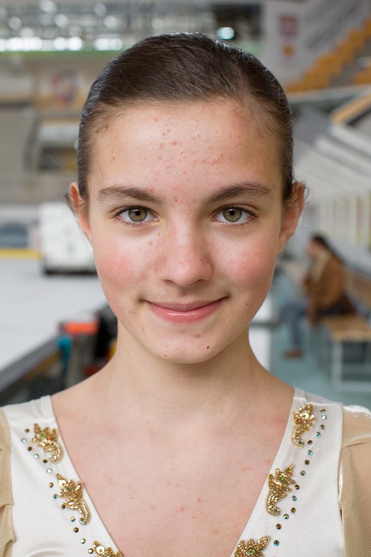 Nachwuchs Eiskunstlauf, Geraldine Alberti