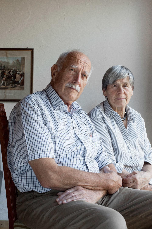 Kurt und Monika Scheidegger