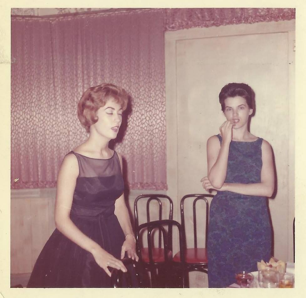 Grandma and Aunt Irene looking glamorous in the 1960s.