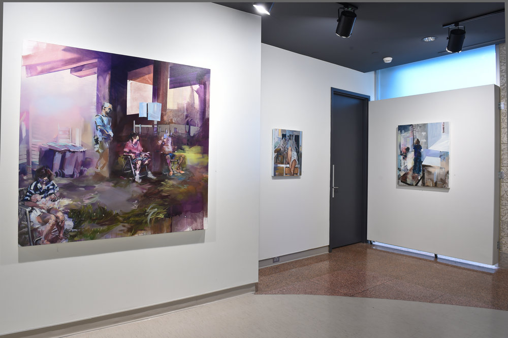 Painter, Painter  Installation View, 2016, Karsh Masson Gallery (Photo Credit : City of Ottawa)
