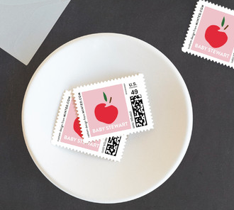 Custom Stamps available at Minted.com