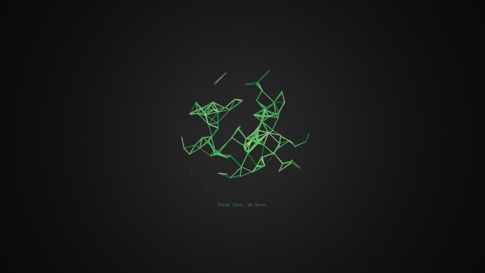 Neurons - A Sketch Made in Processing 3