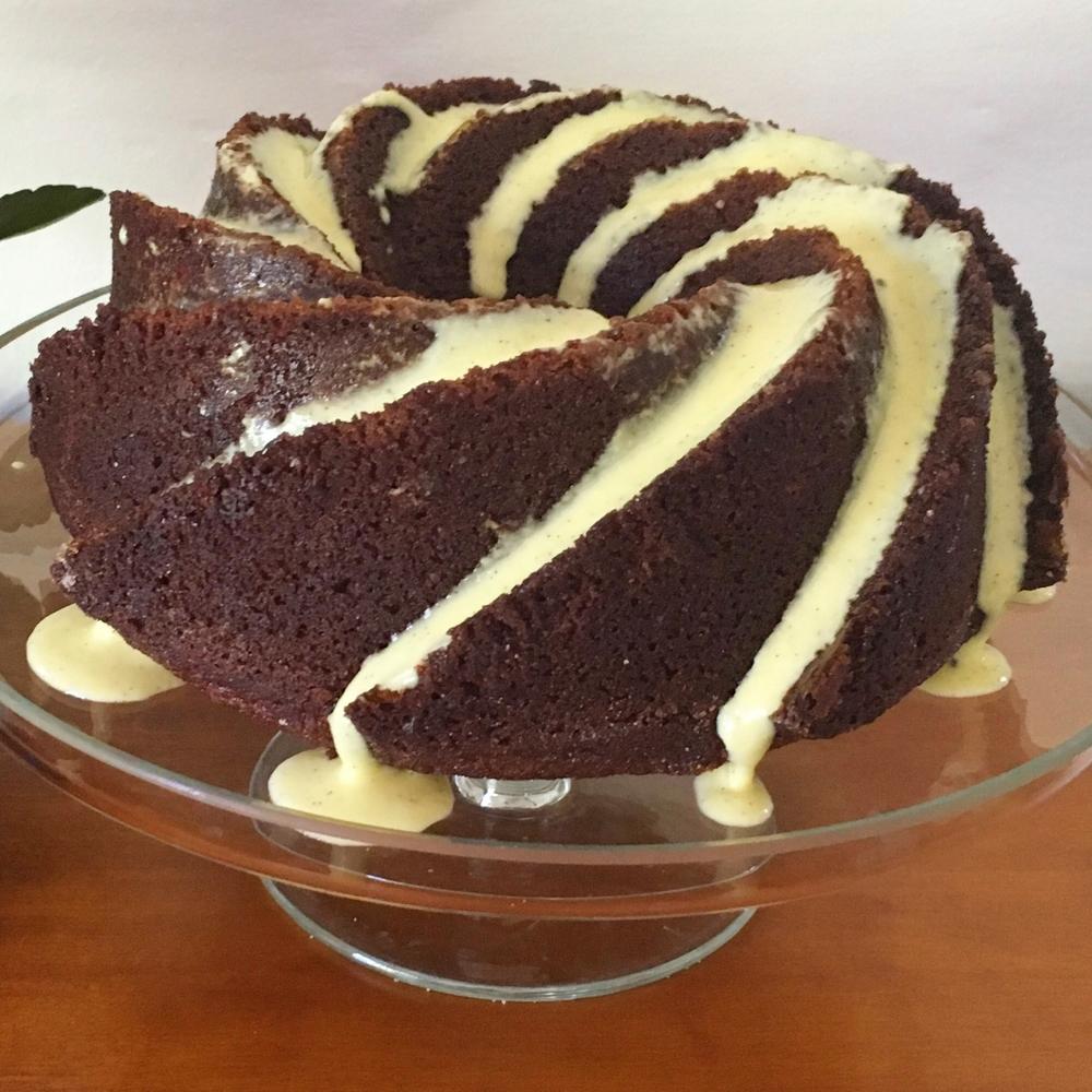 rosh hashanah honey maple bundt cake