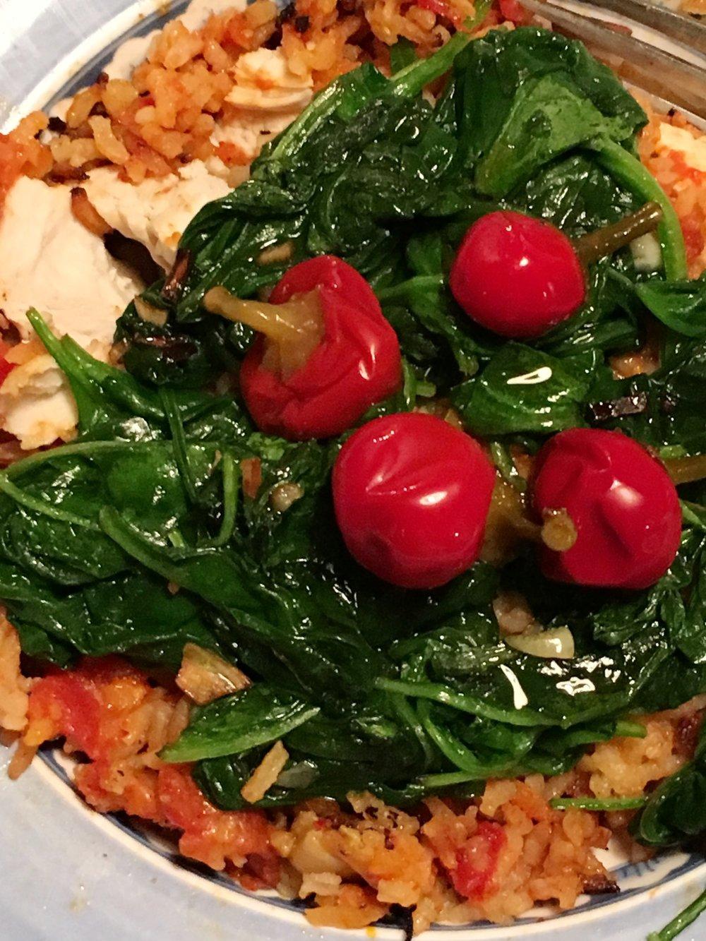 chicken parm rice